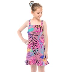 Illustration Reason Leaves Kids  Overall Dress by AnjaniArt