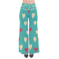 Love Heart Valentine So Vintage Palazzo Pants