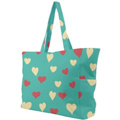 Love Heart Valentine Simple Shoulder Bag by AnjaniArt