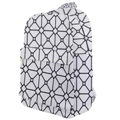 Mesh Pattern Grid Line Classic Backpack by AnjaniArt