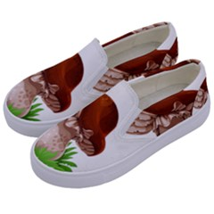 Mushroom Kids  Canvas Slip Ons by AnjaniArt