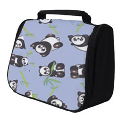 Panda Tile Cute Pattern Full Print Travel Pouch (small) by AnjaniArt