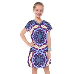 Mandala Kids  Drop Waist Dress by AnjaniArt