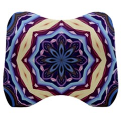 Mandala Velour Head Support Cushion by AnjaniArt