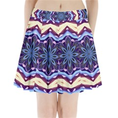 Mandala Pleated Mini Skirt by AnjaniArt