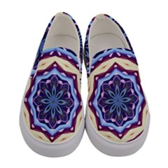 Mandala Women s Canvas Slip Ons