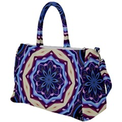 Mandala Duffel Travel Bag by AnjaniArt