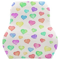 Love Hearts Shapes Car Seat Back Cushion