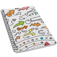 Pattern Art Arrow 5 5  X 8 5  Notebook by AnjaniArt