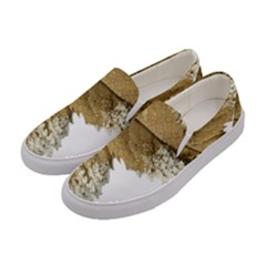Leaf Edge Women s Canvas Slip Ons by Jojostore