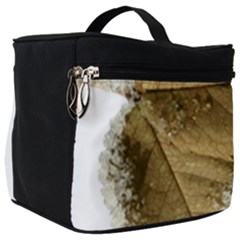 Leaf Edge Make Up Travel Bag (big) by Jojostore