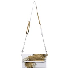Leaf Edge Mini Crossbody Handbag by Jojostore