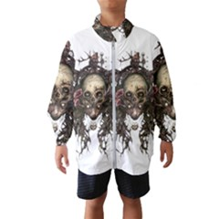 Illustration   Skull Windbreaker (kids)