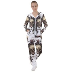 Illustration   Skull Women s Tracksuit