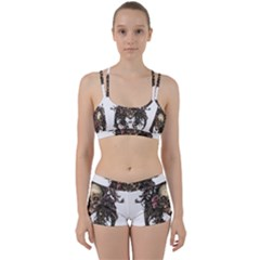 Illustration   Skull Perfect Fit Gym Set by Jojostore