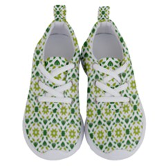 Leaves Floral Flower Flourish Running Shoes