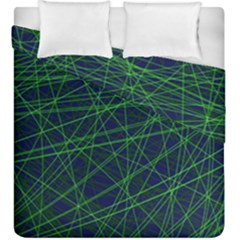 Line Geometric Blue Object Tinker Duvet Cover Double Side (king Size)