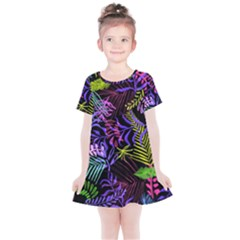 Leaves Nature Kids  Simple Cotton Dress