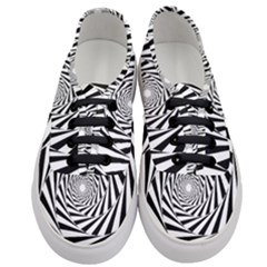 Pattern Texture Spiral Women s Classic Low Top Sneakers