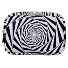 Pattern Texture Spiral Make Up Pouch (small)