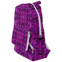 Purple Triangle Pattern Travelers  Backpack