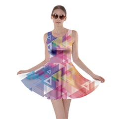 Science And Technology Triangle Skater Dress