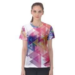 Science And Technology Triangle Women s Sport Mesh Tee