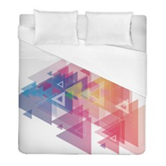 Science And Technology Triangle Duvet Cover (full/ Double Size)
