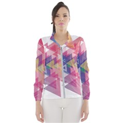 Science And Technology Triangle Windbreaker (women)