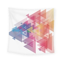 Science And Technology Triangle Square Tapestry (small)