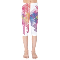 Science And Technology Triangle Kids  Capri Leggings