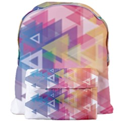 Science And Technology Triangle Giant Full Print Backpack by Alisyart