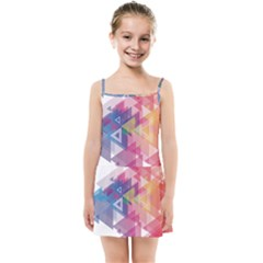Science And Technology Triangle Kids  Summer Sun Dress by Alisyart