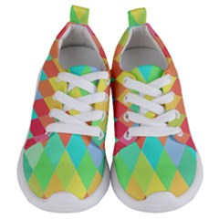 Low Poly Triangles Kids  Lightweight Sports Shoes