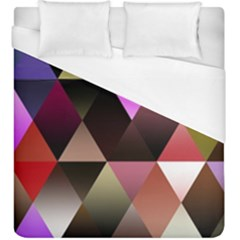 Abstract Geometric Triangles Shapes Duvet Cover (king Size) by Pakrebo