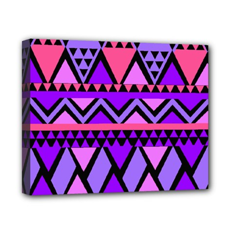 Seamless Purple Pink Pattern Canvas 10  x 8  (Stretched)