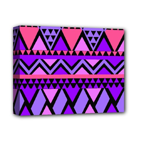 Seamless Purple Pink Pattern Deluxe Canvas 14  x 11  (Stretched)