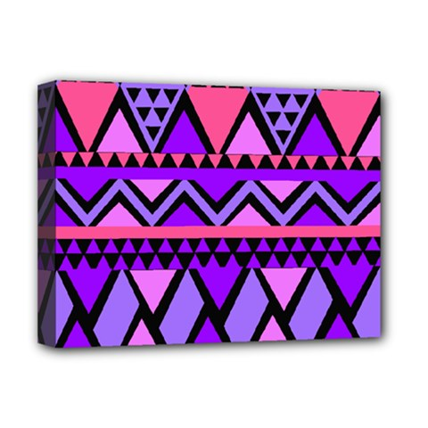 Seamless Purple Pink Pattern Deluxe Canvas 16  x 12  (Stretched)
