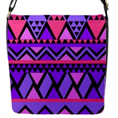 Seamless Purple Pink Pattern Removable Flap Cover (S)