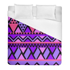 Seamless Purple Pink Pattern Duvet Cover (Full/ Double Size)