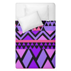 Seamless Purple Pink Pattern Duvet Cover Double Side (Single Size)