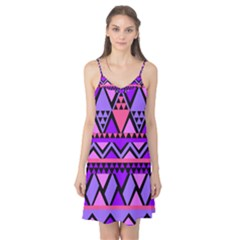Seamless Purple Pink Pattern Camis Nightgown