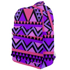 Seamless Purple Pink Pattern Classic Backpack