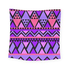 Seamless Purple Pink Pattern Square Tapestry (Small)