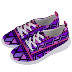 Seamless Purple Pink Pattern Women s Lightweight Sports Shoes by Pakrebo