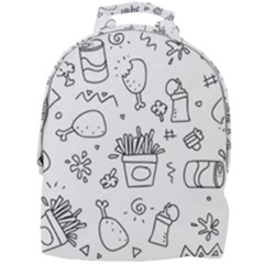 Set Chalk Out Scribble Collection Mini Full Print Backpack