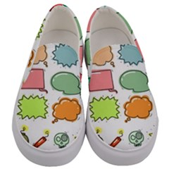 Set Collection Balloon Image Men s Canvas Slip Ons