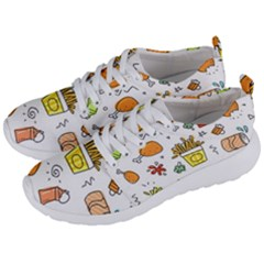 Cute Sketch Set Child Fun Funny Men s Lightweight Sports Shoes by Pakrebo
