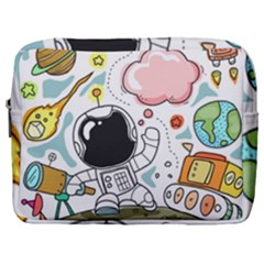 Sketch Cute Child Funny Make Up Pouch (large)