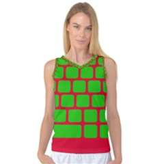 Keyboard Keys Computer Input Pc Women s Basketball Tank Top